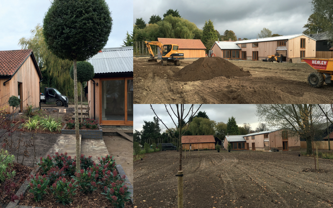 Large Scale Soft Landscaping Project